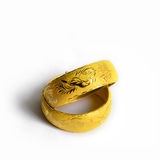 Traditional chinese wedding bangles Royalty Free Stock Photo