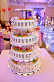 Traditional Chinese wedding - cake Royalty Free Stock Photos