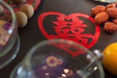 Traditional chinese wedding tea Stock Photo