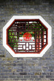 Traditional chinese window Royalty Free Stock Image