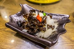 Chinese Yam Mushroom stock image