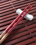Traditional chopsticks Stock Photography
