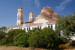 Traditional christian orthodox church in Limassol Cyprus island Royalty Free Stock Photos
