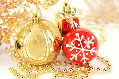 Traditional Christmas ball Royalty Free Stock Photography