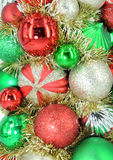 Traditional Christmas ball Stock Image