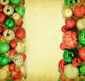 Traditional Christmas ball Royalty Free Stock Images