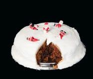 Traditional Christmas Cake Royalty Free Stock Photo