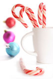 traditional Christmas candy Royalty Free Stock Images