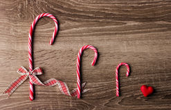 Traditional christmas candy Stock Photo