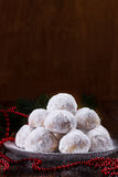 Traditional Christmas cookies Stock Photos