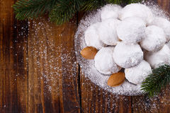 Traditional Christmas cookies Royalty Free Stock Images