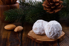 Traditional Christmas cookies Royalty Free Stock Image
