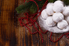 Traditional Christmas cookies Royalty Free Stock Photography