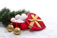 Traditional Christmas cookies Stock Photo