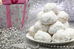 Traditional Christmas cookies Stock Images