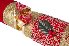 Traditional Christmas Cracker Stock Photos