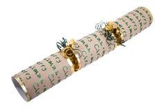 Traditional Christmas Cracker Royalty Free Stock Image