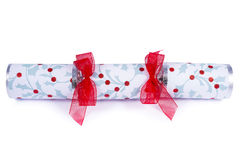 Traditional Christmas Cracker Stock Photography