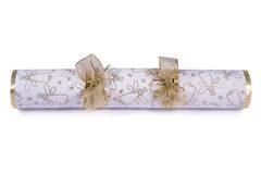 Traditional Christmas Cracker Stock Photography