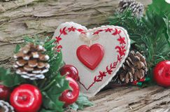 Traditional Christmas decoration Stock Photography