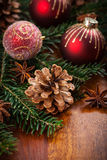 Traditional Christmas decoration Royalty Free Stock Images