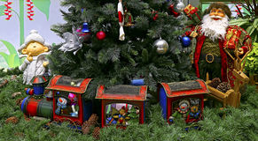Traditional christmas decorations Stock Images
