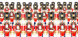 Traditional Christmas Drumming Soldier Decorations Stock Images
