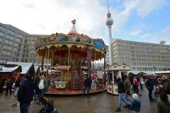 Traditional Christmas fair, Berlin Stock Photography