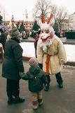 Traditional christmas festival Royalty Free Stock Image