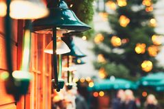 Traditional christmas market Royalty Free Stock Photo