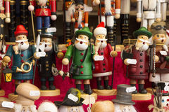 Traditional Christmas Market Souvenirs royalty free stock image