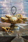 Traditional Christmas mince pies Stock Photography