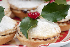 Traditional Christmas mincepies. Royalty Free Stock Photography
