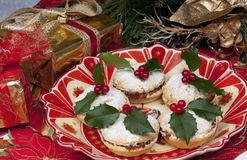 Traditional Christmas mincepies. Stock Image