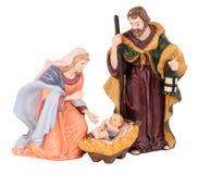 Traditional Christmas Nativity Stock Photography