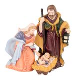 Traditional Christmas Nativity Stock Images