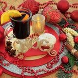 Traditional Christmas Noel Scene Stock Photos