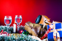 Traditional Christmas objects Stock Photos
