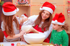 Traditional Christmas preparation Royalty Free Stock Photos