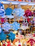 Traditional christmas shopping Royalty Free Stock Image