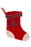 Traditional Christmas sock Royalty Free Stock Images