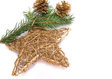 Traditional christmas star Stock Photo