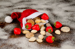 Traditional Christmas sweets Stock Image