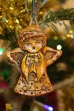Angel Christmas Tree Decoration stock images