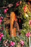 Traditional Christmas tree ornaments Stock Photo