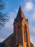Traditional Church Assens Denmark Stock Image