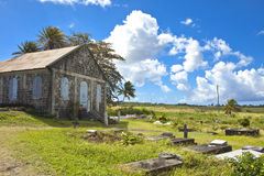 Traditional church in caribbean Stock Images