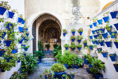Traditional Church in Cordoba Royalty Free Stock Image