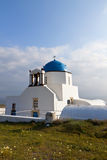Traditional church in Greece Royalty Free Stock Images