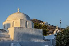 Traditional church in the island of Folegandros